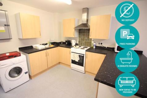 Gwennyth House, Cathays. 1 bedroom flat share