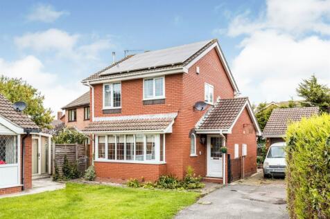 Burford Close, Portishead, Bristol. 4 bedroom detached house for sale