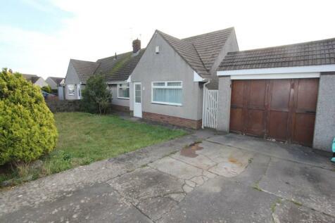 Ceri Avenue, Rhoose, Vale of Glamorgan. 3 bedroom semi-detached bungalow