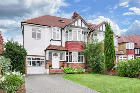 Parkside Crescent, Berrylands, Surbiton. 4 bedroom semi-detached house