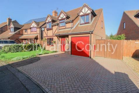 Foxdale, Peterborough. 4 bedroom detached house for sale