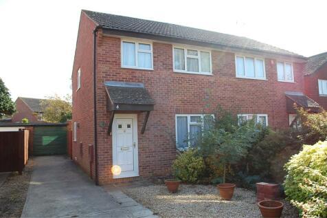 Sandford Close, ABINGDON, Oxfordshire, OX14. 2 bedroom semi-detached house