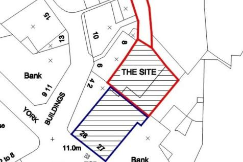 Land to the Rear of, 27-28 Cornhill. Land for sale