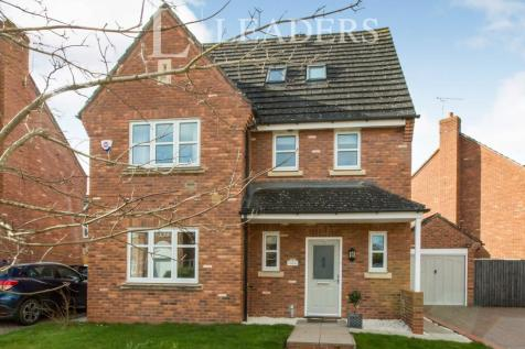 Haydn Jones Drive, Stapeley, Nantwich. 4 bedroom detached house