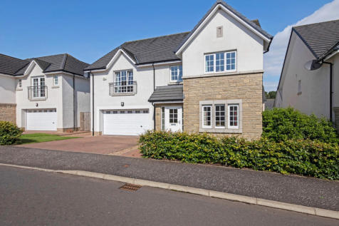 West Cairn View, Murieston, Livingston, West Lothian, EH54. 5 bedroom detached house for sale