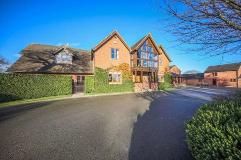 Cherry Tree Farm, Woore, Cheshire. 7 bedroom detached house for sale