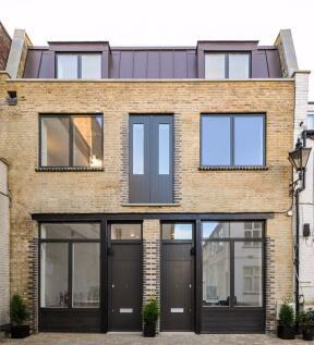 Blackstock Mews, Highbury. 3 bedroom terraced house