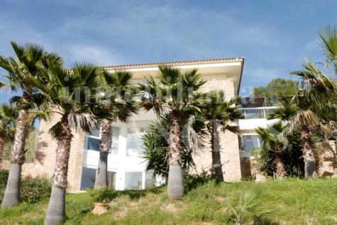 Balearic Islands, Ibiza, Es Cubells. 6 bedroom villa for sale