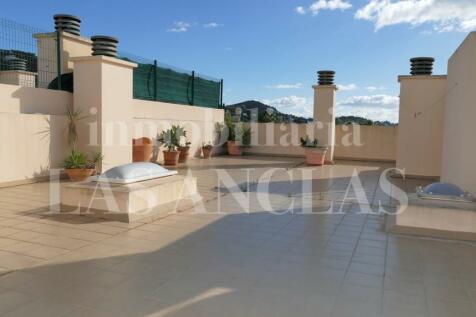 Balearic Islands, Ibiza, Jesus. 2 bedroom penthouse for sale