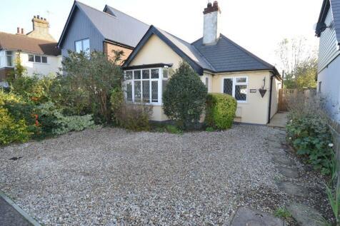 Queens Road, Tankerton, Whitstable. 3 bedroom detached bungalow for sale