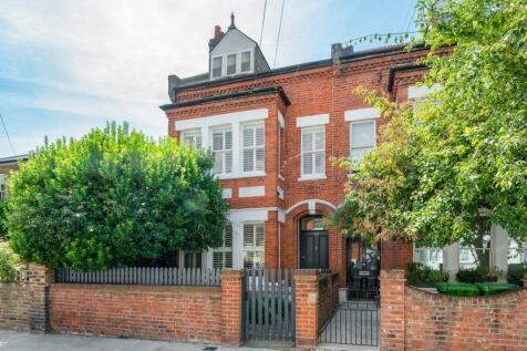 Dalling Road, Brackenbury Village, London, W6. 5 bedroom end of terrace house