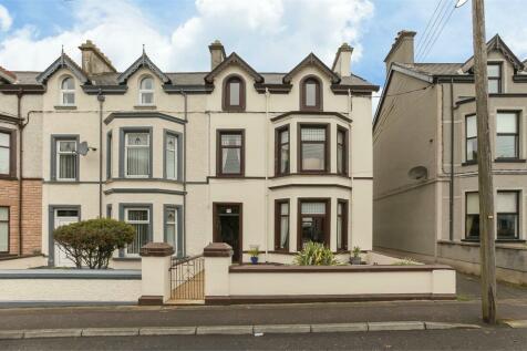 Glenarm Road, Larne, County Antrim. 4 bedroom end of terrace house