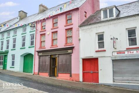 Castle Street, Ballycastle, County Antrim. 4 bedroom terraced house for sale