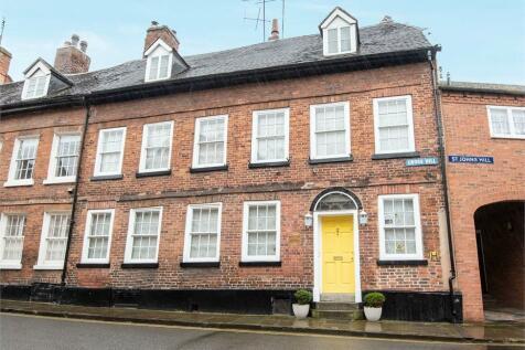 Cross Hill, Shrewsbury, Shropshire. 4 bedroom town house
