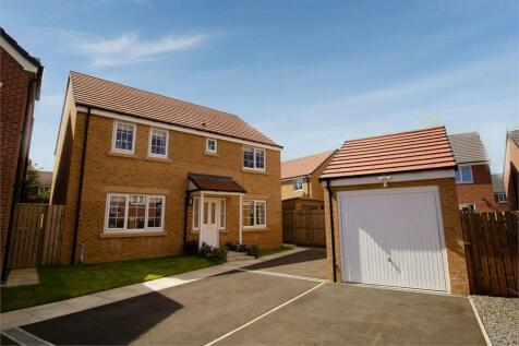 Belfry Close, Ashington, Northumberland. 4 bedroom detached house for sale