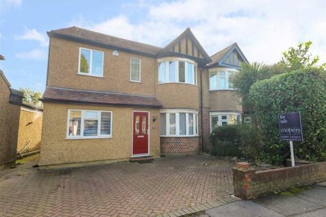Burnham Avenue, Ickenham, UB10. 3 bedroom semi-detached house for sale