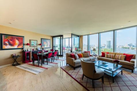 The Tower, 1 St Georges Wharf, London, SW8. 3 bedroom apartment for sale