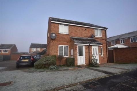 Bramley Close, Ledbury, Herefordshire. 2 bedroom semi-detached house