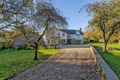 Red House Lane, Shirenewton, Chepstow, Monmouthshire. 5 bedroom detached house for sale
