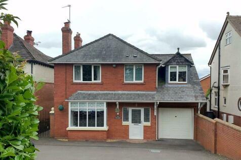 Sundorne Road, Shrewsbury. 4 bedroom detached house