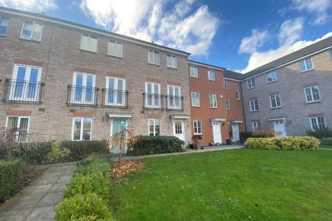 Morlais Mews, Newport. 4 bedroom town house for sale