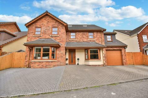 Llys Pentrefelen, Morriston, Swansea. 6 bedroom detached house for sale