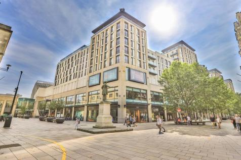 Block 4, The Hayes, Cardiff City Centre, Cardiff.. 2 bedroom apartment