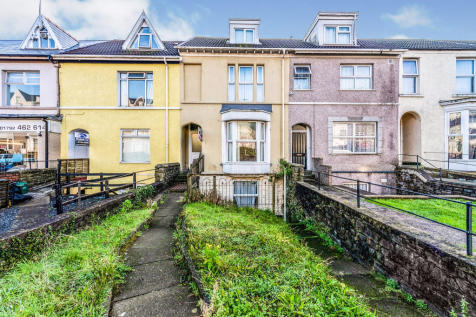 King Edwards Road, Swansea. 5 bedroom terraced house for sale