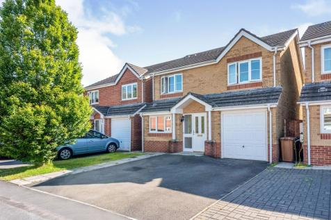 Sword Hill, Caerphilly. 4 bedroom detached house