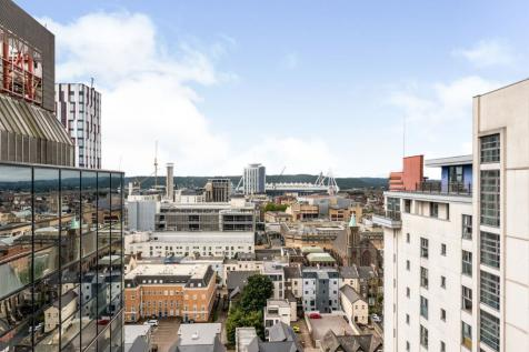 Churchill Way, Cardiff. 2 bedroom flat for sale