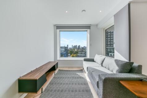 Hurlock Heights, Elephant Park, Elephant & Castle SE17. Studio apartment