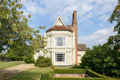 Kettleburgh Hall, Woodbridge, Suffolk IP13. 7 bedroom detached house for sale