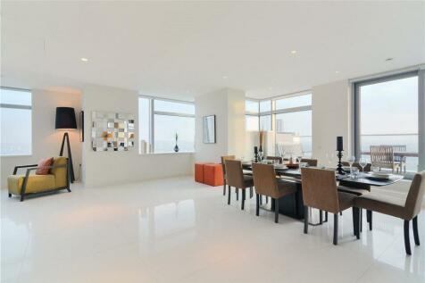 Pan Peninsula Square, South Quay, London, E14. 3 bedroom flat for sale