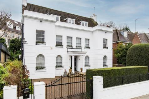 West Heath Road, London, NW3. 6 bedroom detached house for sale