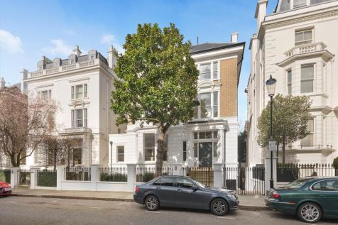Upper Phillimore Gardens, Kensington, London, W8. 8 bedroom detached house