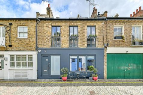 Russell Gardens Mews, Holland Park, London, W14. 3 bedroom mews house