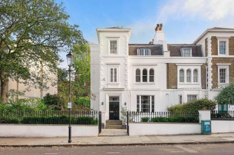 Lansdowne Crescent, London, W11. 9 bedroom semi-detached house