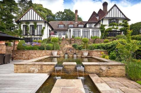 Wood Lane, St George's Hill, Weybridge, Surrey, KT13. 6 bedroom detached house