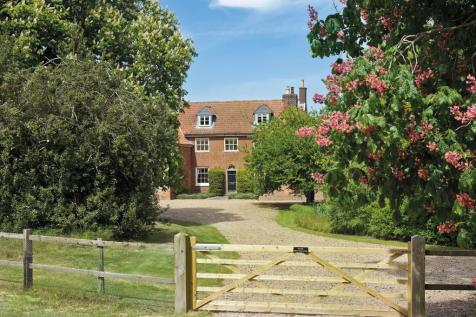 Friston, Saxmundham, Suffolk, IP17. 8 bedroom detached house for sale