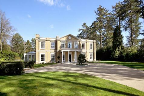 Lake Road, Wentworth, Virginia Water, Surrey, GU25. 6 bedroom detached house for sale