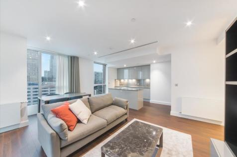 Ostro Tower, 31 Harbour Way, Nr Canary Wharf, London, E14. 2 bedroom flat