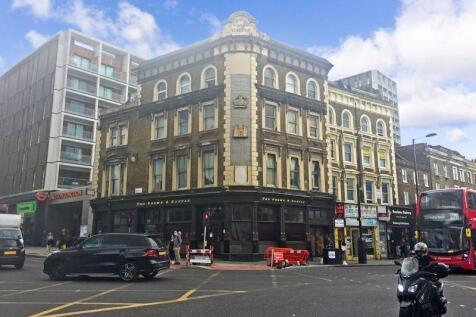 Kingsland Road, London. Studio flat