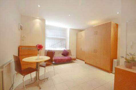 Devonshire Terrace, Paddington, W2. Studio flat