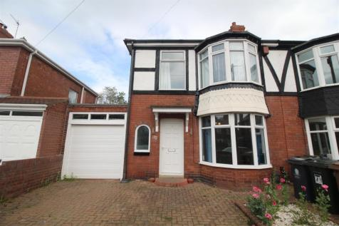 Plessey Crescent, Whitley Bay. 3 bedroom semi-detached house