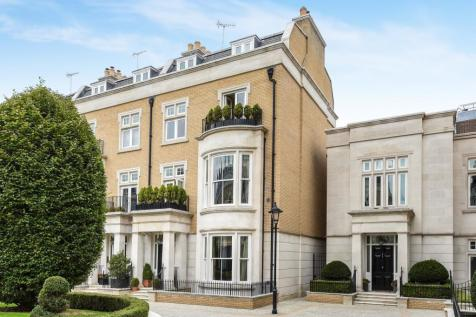 Wycombe Square, London, W8. 6 bedroom end of terrace house