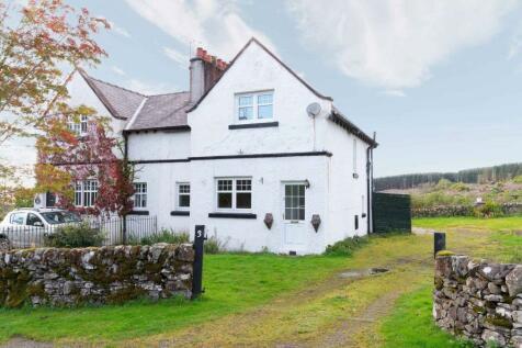 3 Newlands Cottages, , Kirkmahoe, DG1 1TD. 2 bedroom semi-detached house