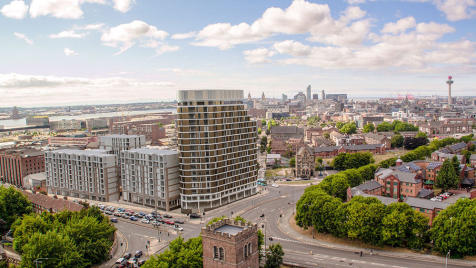Parliament Square Tower, Greenland Street, Liverpool, L1 0BY. 2 bedroom flat for sale
