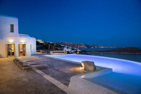 Aleomandra, Mykonos, Cyclades islands. 10 bedroom villa
