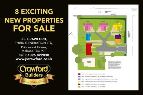 'Rural Renaissance', Abbotsford Terrace, Galashiels, TD1. 4 bedroom detached house for sale