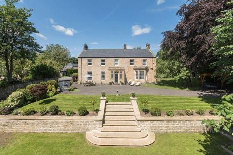 Throckley Hall, Throckley, Newcastle Upon Tyne. 6 bedroom semi-detached house for sale